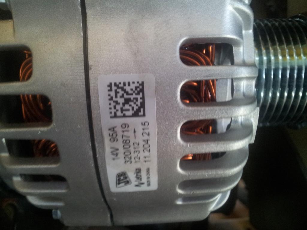 32008719 Alternator jcb 3cx